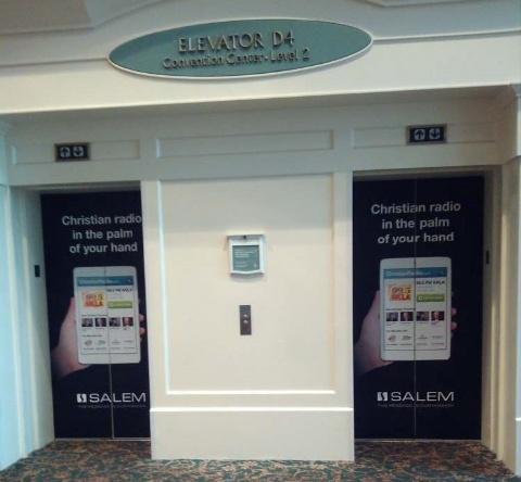Picture of Elevator Door Wrap