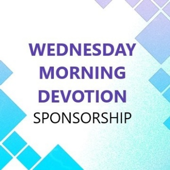 Picture of Wednesday Morning Devotion Sponsorship