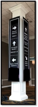 Picture of Delta Lobby Column Banners